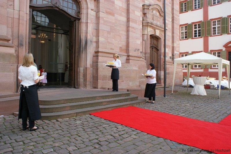 Empfang in Heidelberg