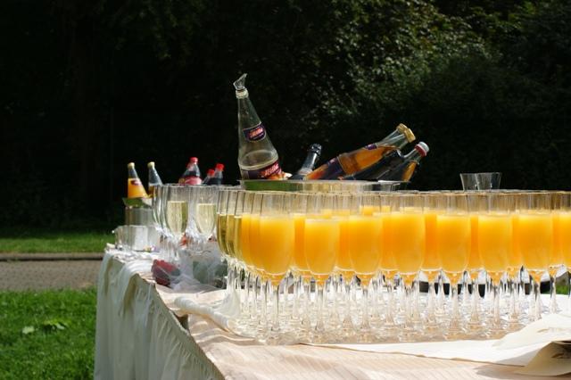 Ob Sekt, Sekt-Orange oder nur Orangensaft