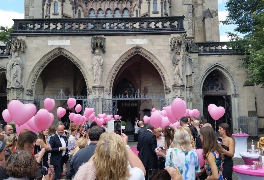 Sektempfang mit Tauben und Ballons in Köln Bild 11   ©Ihr Sektempfang