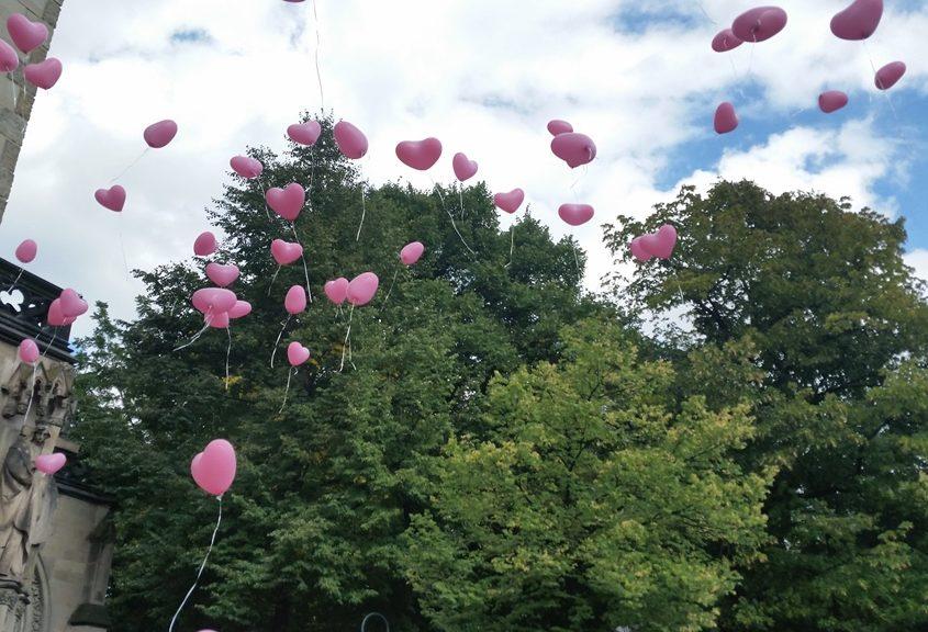 Sektempfang mit Tauben und Ballons in Köln Bild 14   ©Ihr Sektempfang