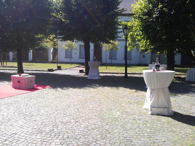 Sektempfang zur Hochzeit in Kerken Aldekerk Bild-1