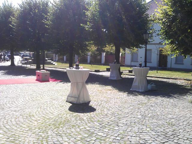 Sektempfang zur Hochzeit in Kerken Aldekerk Bild-2