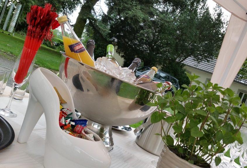 Sektempfang zur Hochzeit Leverkusen Bild 4 | ©Ihr Sektempfang