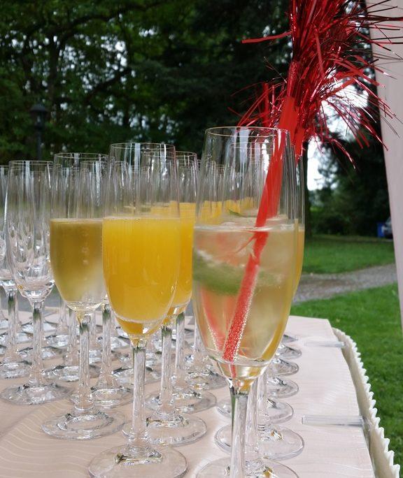 Sektempfang zur Hochzeit Leverkusen Bild 7 | ©Ihr Sektempfang