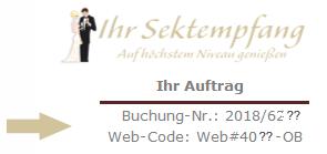 Hier finden Sie Ihren Web-Code