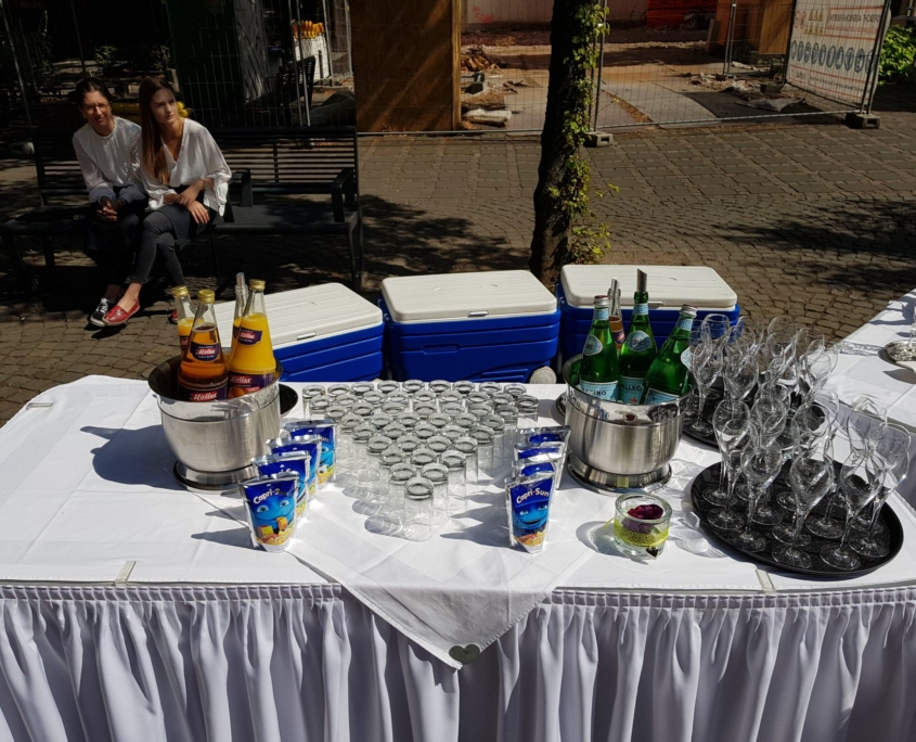 Sektempfang in Köln
