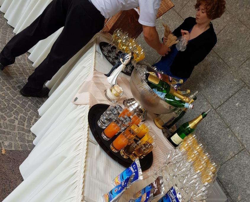 Sektempfang Kölner Rathaus August 2018