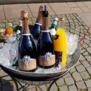 Exklusiver Sektempfang in Köln am Standesamt