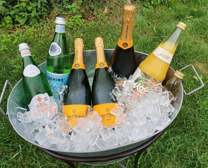 Champagner Empfang Düsseldorf